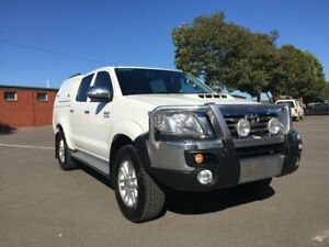 2014 Toyota Hilux KUN26R MY12 SR5 (4x4) 4 Speed Automatic Dual Cab Pick-up Clarence Gardens Mitcham Area Preview