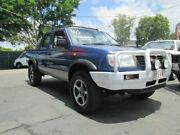 2001 Nissan Navara D22 S3 DX Blue 5 Speed Manual Utility Coopers Plains Brisbane South West Preview