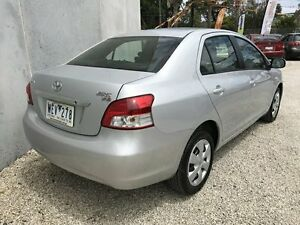 2007 Toyota Yaris NCP93R YRS Silver 4 Speed Automatic Sedan Seaford Frankston Area Preview