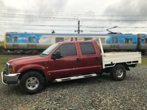 2004 Ford F250 RN XLT Red 4 Speed Automatic Crew Cab Pickup Moorabbin Kingston Area Preview
