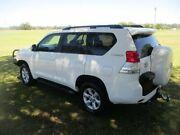 2012 Toyota Landcruiser Prado KDJ150R GXL White 6 Speed Manual Wagon Kempsey Kempsey Area Preview