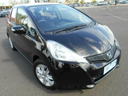 2013 Honda Jazz GE MY12 Update Vibe Black 5 Speed Automatic Hatchback Braybrook Maribyrnong Area Preview