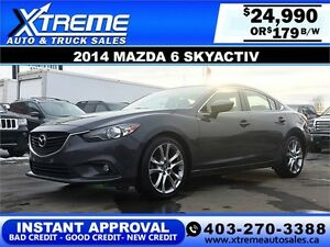 2014 Mazda 6 iGRAND TOURING $179 BI-WEEKLY APPLY NOW DRIVE NOW