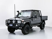 2016 Toyota Landcruiser LC70 VDJ79R MY17 GXL (4x4) Graphite 5 Speed Manual Double Cab Chassis Jandakot Cockburn Area Preview