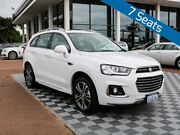 2017 Holden Captiva CG MY17 LTZ AWD Summit White 6 Speed Sports Automatic Wagon Alfred Cove Melville Area Preview