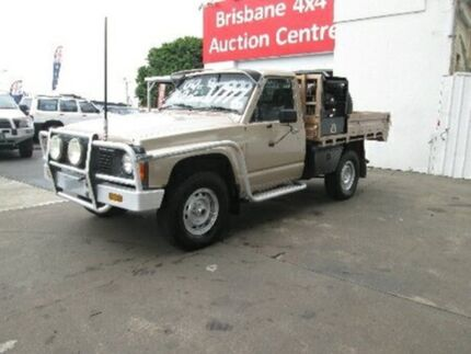1997 Nissan Patrol GQ DX Gold 5 Speed Manual Cab Chassis Coopers Plains Brisbane South West Preview