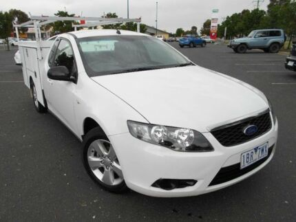 2009 Ford Falcon FG (LPG) White 4 Speed Auto Seq Sportshift Cab Chassis Braybrook Maribyrnong Area Preview