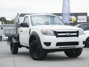 2010 Ford Ranger PK XL White 5 Speed Manual Cab Chassis Pearce Woden Valley Preview