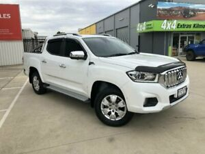 2018 LDV T60 SKC8 Luxe (4x4) White 6 Speed Direct Shift Double Cab Utility Kilmore Mitchell Area Preview