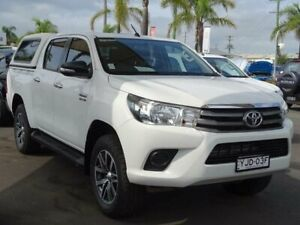 2016 Toyota Hilux GUN126R SR (4x4) White 6 Speed Automatic Dual Cab Utility South Nowra Nowra-Bomaderry Preview