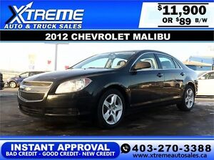 2012 Chevrolet Malibu $89 BI-WEEKLY APPLY NOW DRIVE NOW
