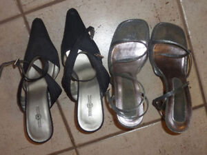 Heels (for prom), boots, flats, size 7, 7.5 $ 5 - $ 20 per pair Kitchener / Waterloo Kitchener Area image 2