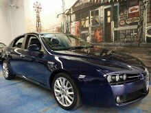 2007 Alfa Romeo 159 JTD Blue 6 Speed Sports Automatic Sedan Marrickville Marrickville Area Preview