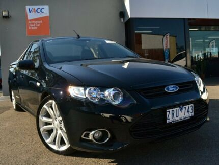 2013 Ford Falcon FG MkII XR6 Ute Super Cab Turbo Black 6 Speed Sports Automatic Utility Fawkner Moreland Area Preview