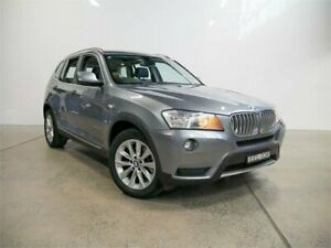 2012 BMW X3 F25 xDrive30d Space Grey 8 Speed Automatic Wagon Petersham Marrickville Area Preview