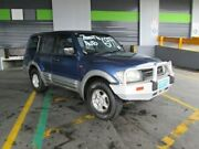 2001 Mitsubishi Pajero NM GLS Blue 5 Speed Sports Automatic Wagon Archerfield Brisbane South West Preview