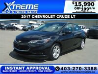 2017 CHEVROLET CRUZE LT *INSTANT APPROVAL* $0 DOWN $109/BW! Calgary Alberta Preview