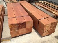 hard wood timber quanity of 15 and 9 foot lengths 4x4