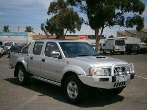 2009 Nissan Navara D22 MY08 ST-R (4x4) Silver 5 Speed Manual Dual Cab Pick-up