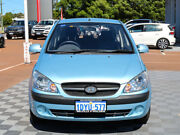 2011 Hyundai Getz TB MY09 SX Blue 4 Speed Automatic Hatchback Alfred Cove Melville Area Preview