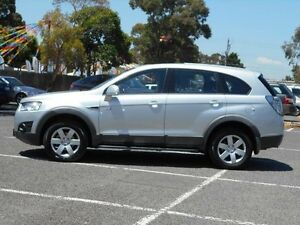2011 Holden Captiva CG Series II 7 SX (FWD) Silver 6 Speed Automatic Wagon Maidstone Maribyrnong Area Preview