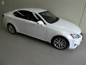 2012 Lexus IS GSE20R MY11 IS250 Prestige White 6 Speed Sports Automatic Sedan Coburg North Moreland Area Preview