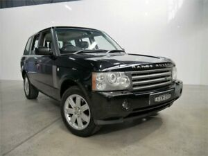2006 Land Rover Range Rover Vogue V8 Java Black 6 Speed Auto Sequential Wagon Petersham Marrickville Area Preview