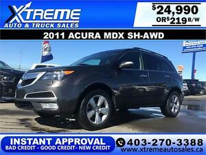 2011 Acura MDX SH-AWD $219 BI-WEEKLY APPLY NOW DRIVE NOW