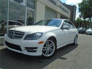 2013 Mercedes-Benz C-Class C 300 AWD V6 W/LEATHER/ROOF/NAV