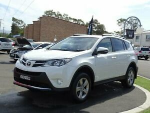 2015 Toyota RAV4 ZSA42R MY14 Upgrade GXL (2WD) White Continuous Variable Wagon South Nowra Nowra-Bomaderry Preview