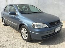 2001 Holden Astra TS Equipe Blue 4 Speed Automatic Hatchback Frankston North Frankston Area Preview
