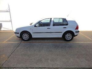 2002 Volkswagen Golf 4TH GEN GL White 5 Speed Manual Hatchback Kippa-ring Redcliffe Area Preview
