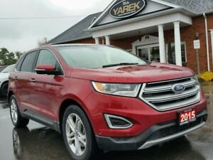 2015 Ford Edge Titanium AWD, Pano Roof, Heated/Cooled Seats, NAV