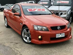 2009 Holden Commodore VE MY09.5 SS-V Orange 6 Speed Automatic Utility Werribee Wyndham Area Preview