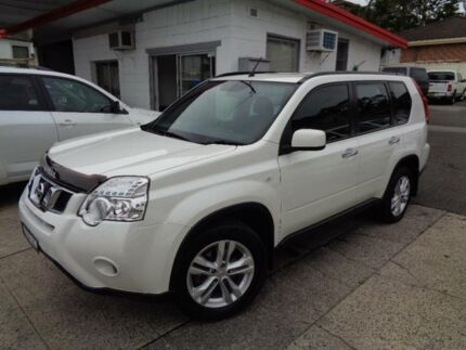 2012 Nissan X-Trail T31 MY11 ST (FWD) Pearl White 6 Speed Manual Wagon Sylvania Sutherland Area Preview