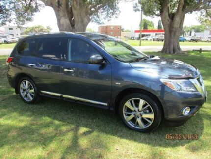 2013 Nissan Pathfinder R52 MY14 Ti X-tronic 2WD Grey 1 Speed Constant Variable Wagon Kempsey Kempsey Area Preview