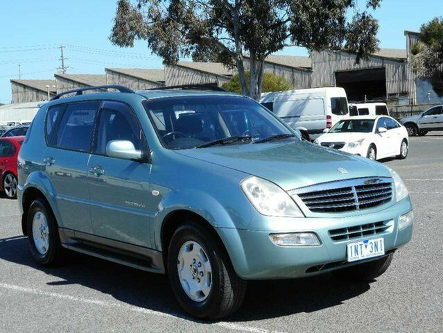 2005 ssangyong rexton y200 rx270 xdi limited green 5 speed auto 1 of 14 fandeluxe Image collections