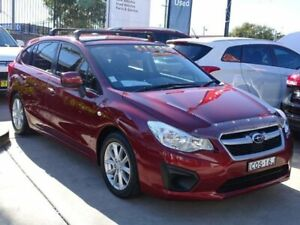 2013 Subaru Impreza MY13 2.0I (AWD) Red Continuous Variable Hatchback Ulladulla Shoalhaven Area Preview