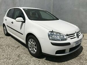 2007 Volkswagen Golf 1K MY08 Upgrade 2.0 TDI Comfortline White 6 Speed Direct Shift Hatchback Seaford Frankston Area Preview