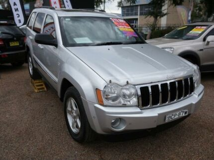 2007 Jeep Grand Cherokee WH MY2007 Limited 5 Speed Automatic Wagon