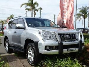 2012 Toyota Landcruiser Prado KDJ150R 11 Upgrade GXL (4x4) Silver 5 Speed Sequential Auto Wagon South Nowra Nowra-Bomaderry Preview