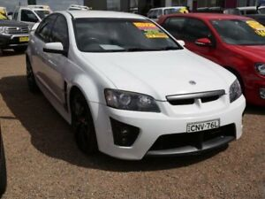 2008 Holden Special Vehicles ClubSport E Series R8 White 6 Speed Manual Sedan Mount Druitt Blacktown Area Preview