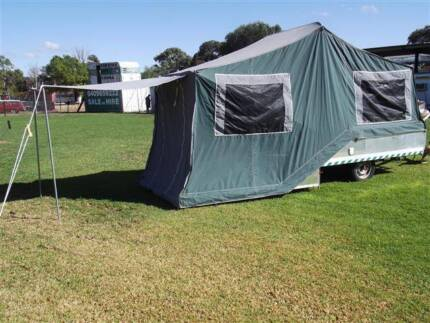 #1855  Cub camper trailer, New tent & new annex, 12 rego Cowra Cowra Area Preview