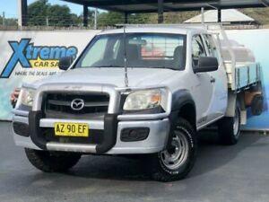 2008 Mazda BT-50 UNY0E3 SDX White Manual Utility Campbelltown Campbelltown Area Preview