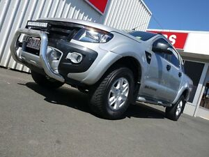 2014 Ford Ranger PX Wildtrak Double Cab Silver 6 Speed Sports Automatic Utility Svensson Heights Bundaberg City Preview