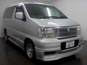 1999 Nissan Elgrand ATE50 Highwaystar Silver Automatic Wagon Cabramatta Fairfield Area Preview