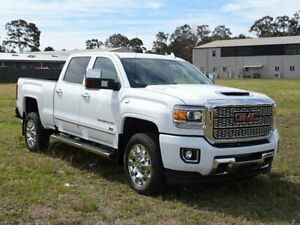 2019 GMC Sierra 2500HD White Automatic Dual Cab South Nowra Nowra-Bomaderry Preview