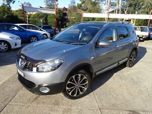 2012 Nissan Dualis J10 Series 3 +2 TI-L (4x2) Grey 6 Speed CVT Auto Sequential Wagon Sylvania Sutherland Area Preview