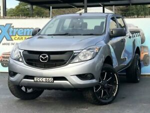 2015 Mazda BT-50 UP0YF1 XT Hi-Rider Silver Sports Automatic Utility Campbelltown Campbelltown Area Preview