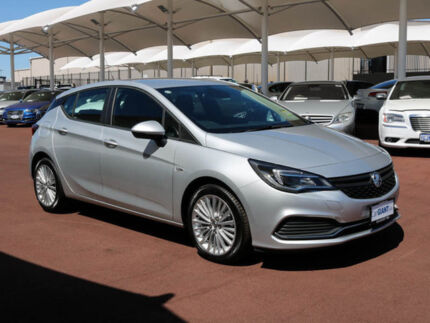 2017 Holden Astra BK MY17.5 R+ Nitrate 6 Speed Automatic Hatchback